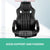 Racing Style PU Leather Office Desk Chair - Black - Decorly