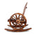 Gardeon Wagon Wheels Rocking Chair - Brown - Decorly
