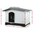 i.Pet Extra Extra Large Pet Kennel - Grey - Decorly