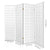 Artiss 4 Panel Wooden Room Divider - White - Decorly