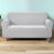 Artiss High Stretch Sofa Cover Couch Protector Slipcovers 3 Seater Grey - Decorly