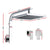 WELS 8 Rain Shower Head Set Bathroom Gooseneck Square Taps Hand Held High Pressure DIY""