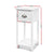 Artiss Bedside Table Nightstand Drawer Storage Cabinet Lamp Side Shelf White - Decorly