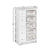 Artiss 5 Basket Storage Drawers - White - Decorly