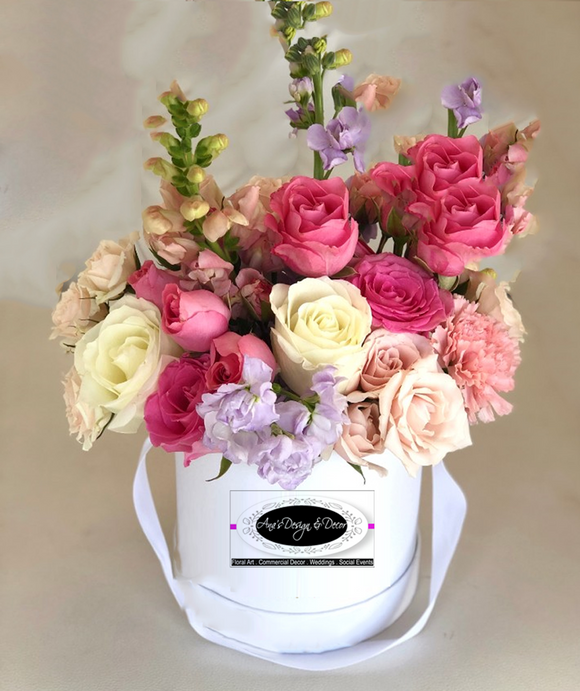 EXCLUSIVE LINE OF LUXURY FRESH FLOWERS BOXES