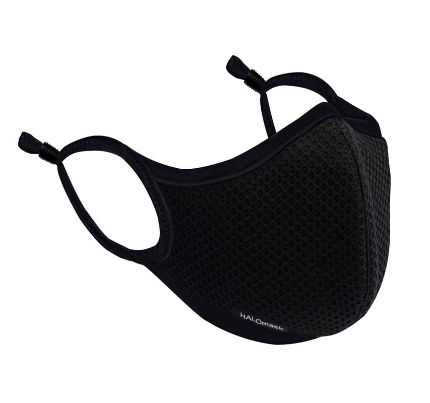 Black Mesh Sport Mask with HALO Nanofilter™ Technology