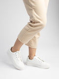 Banny White Casual Trainers