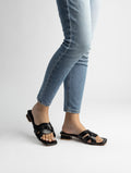 Mia Braid Slip on Sandals
