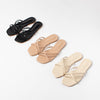 Anne Raid Strap Slippers