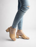 BASIC Allyn Mid Casual Heels