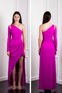 ONE SHOULDER GOWN by AE'LKEMI