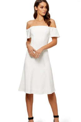OFF SHOULDER DRESS by Kookai