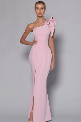 Designer Dress Hire Perth - SUE GOWN by Bariano - Kylies Kloset.  Pink Dress, Rent designer dresses, red carpet gowns, jumpsuits or playsuits from Australia's best designer dress rental destination.  Kylies Kloset - complimentary One on One Styling Consultation.