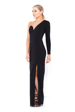 SHAY ONE SHOULDER GOWN by Bariano