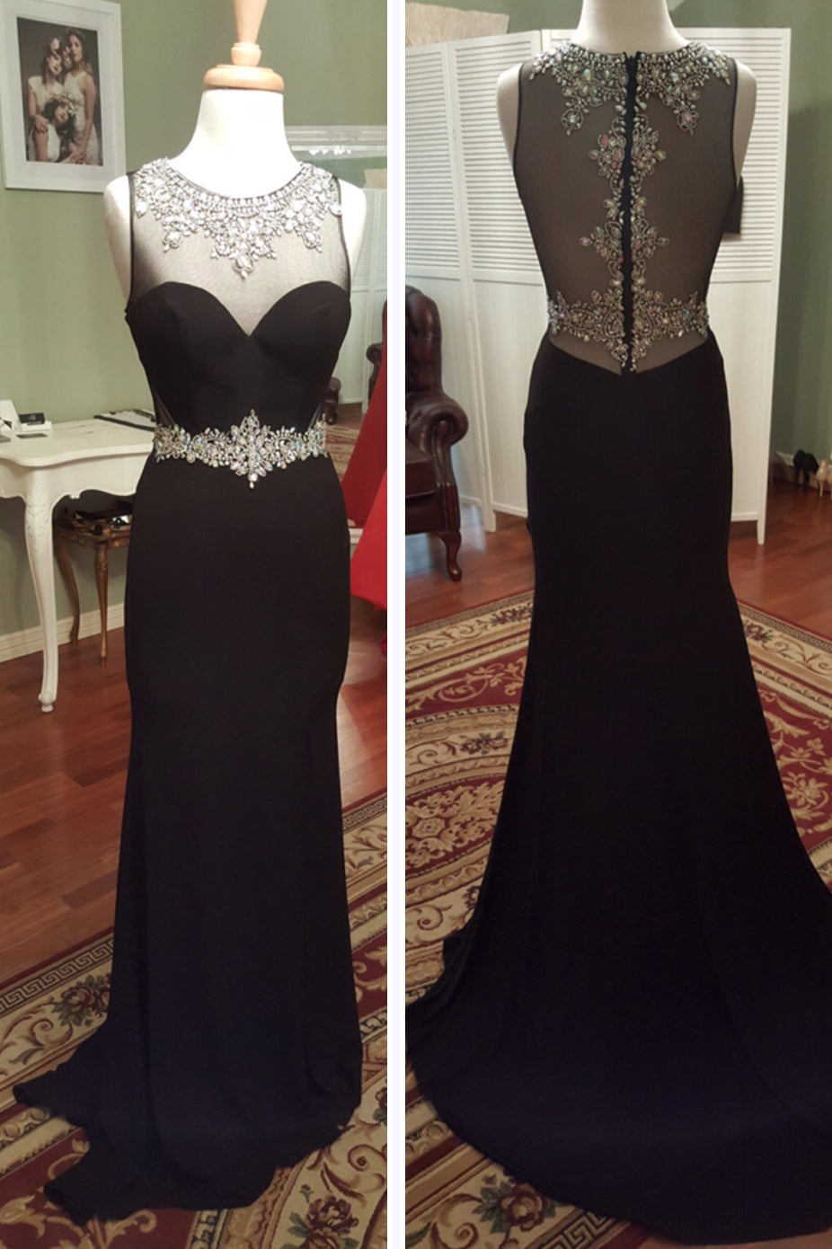 EMBELLISHED GOWN by Sherri Hill