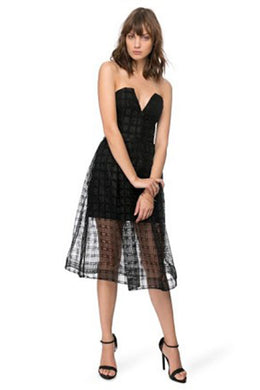 LATTICE BALL DRESS by Nicholas the Label