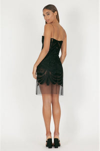 MIMI MINI DRESS - BLACK by Natalie Rolt
