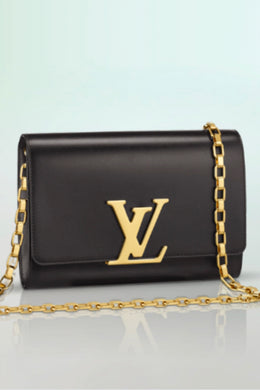 LOUISE BLACK CLUTCH by Louis Vuitton