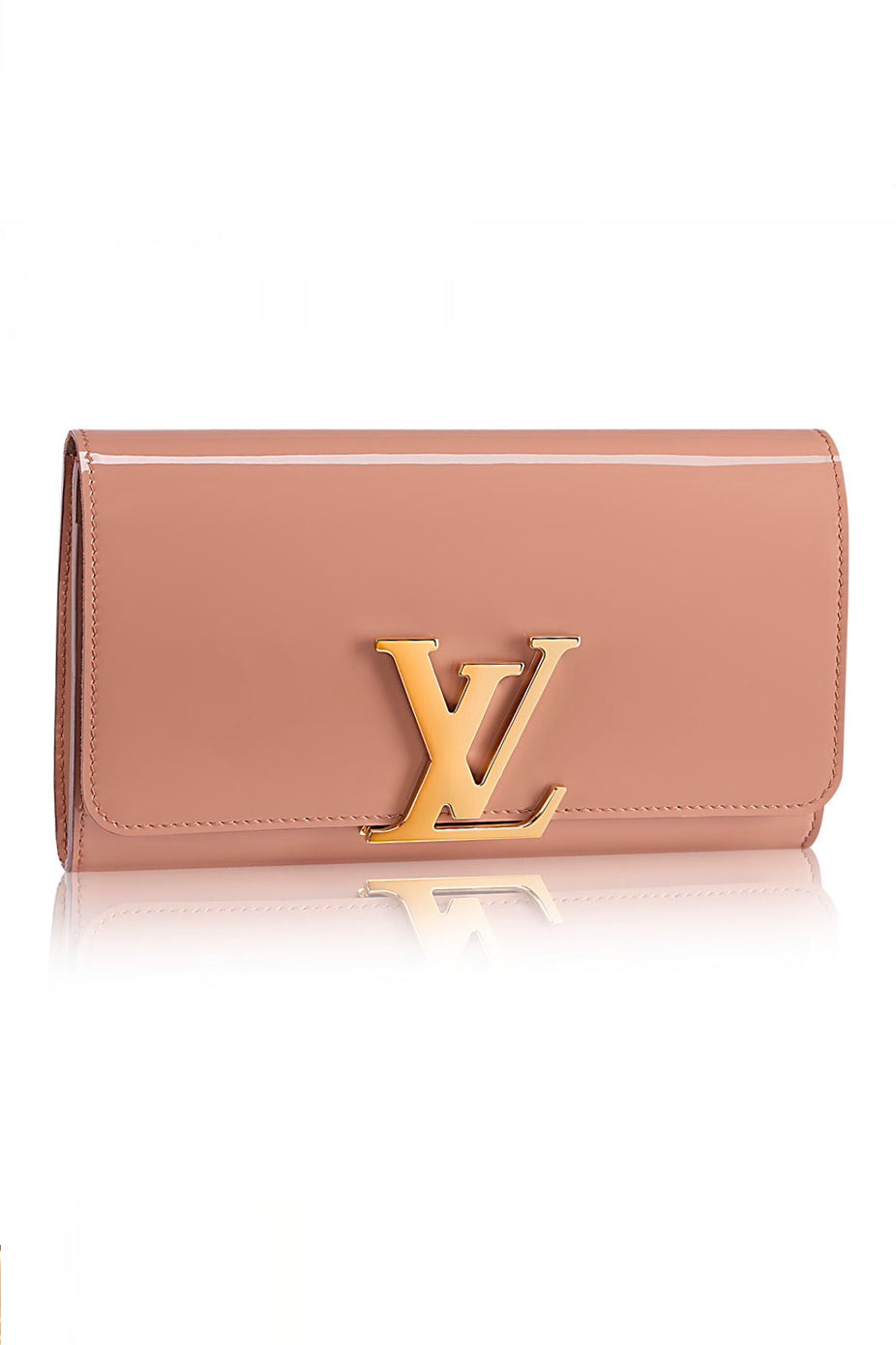 LOUISE PATENT CLUTCH by Louis Vuitton