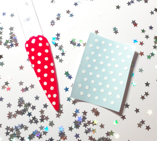 Polka Dot Nail Decal Topper