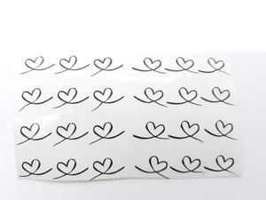 12 or 24 pack Loop Hearts