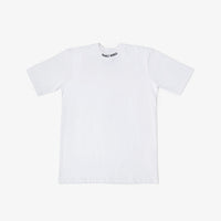 Collar Logo T-Shirt - White