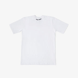 Open image in slideshow, Collar Logo T-Shirt - White