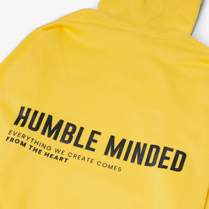 Long Cuffed Hoodie - Yellow