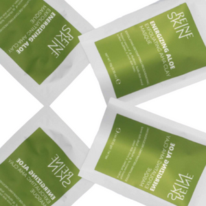 THE ENERGIZING ALOE™ Exfoliating AHA Clay Masque