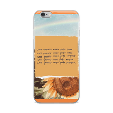 Load image into Gallery viewer, Sunflower iPhone Case