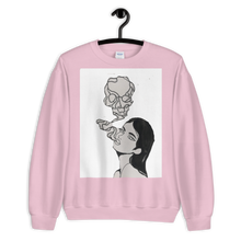 Load image into Gallery viewer, Skull Girl Premium Sweatshirt