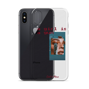 Girl is a Gun iPhone Case