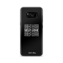 Load image into Gallery viewer, Self Love Black Samsung Case