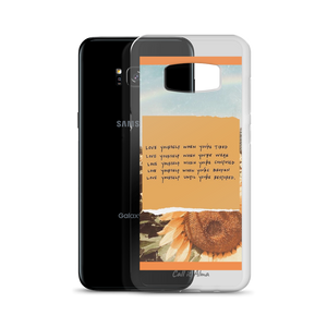 Sunflower Samsung Case