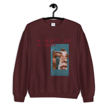 Load image into Gallery viewer, Girl is a Gun Premium Sweatshirt