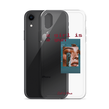 Load image into Gallery viewer, Girl is a Gun iPhone Case