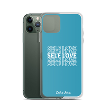 Load image into Gallery viewer, Self Love Blue iPhone Case