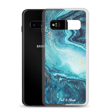 Load image into Gallery viewer, Ocean Marble Samsung Case