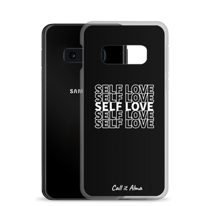 Self Love Black Samsung Case