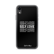Load image into Gallery viewer, Self Love Black iPhone Case