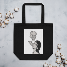 Load image into Gallery viewer, Skull Girl Eco Tote Bag