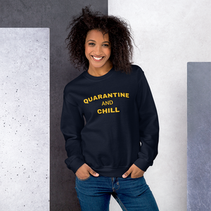 Quarantine Yellow Premium Sweatshirt