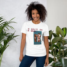 Load image into Gallery viewer, Girl is a Gun Premium T-Shirt