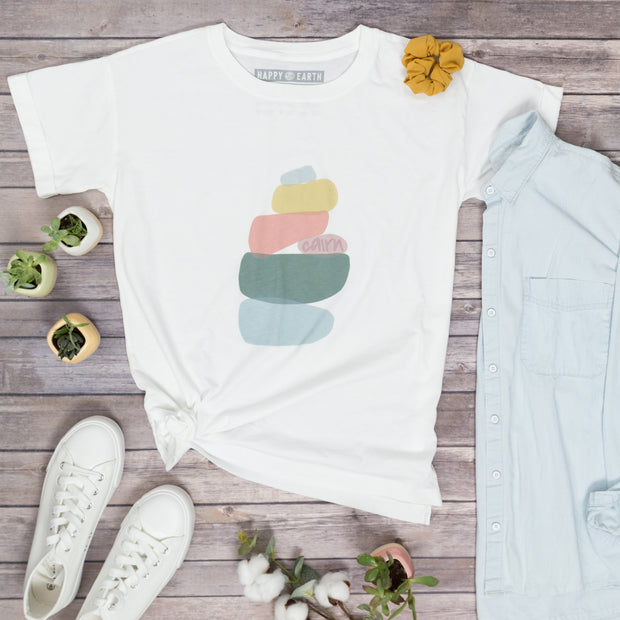 Cairn Oversized Tee | Happy Earth Apparel