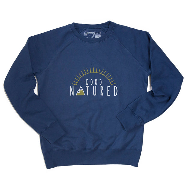 Good Natured Fleece Crew | Happy Earth Apparel