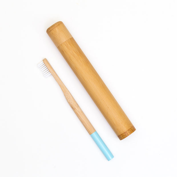 Bamboo Toothbrush Travel Kit - Happy Earth Apparel