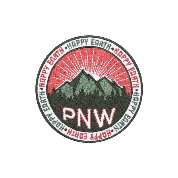 PNW Patch - Happy Earth Apparel