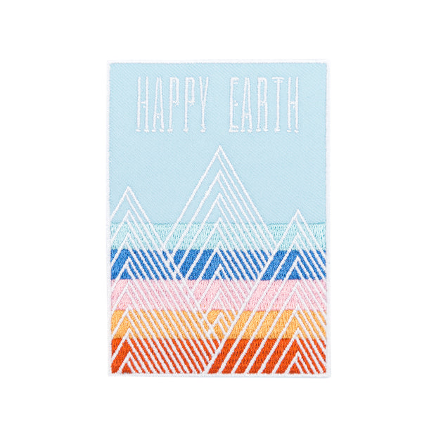 Mountains Patch | Happy Earth Apparel