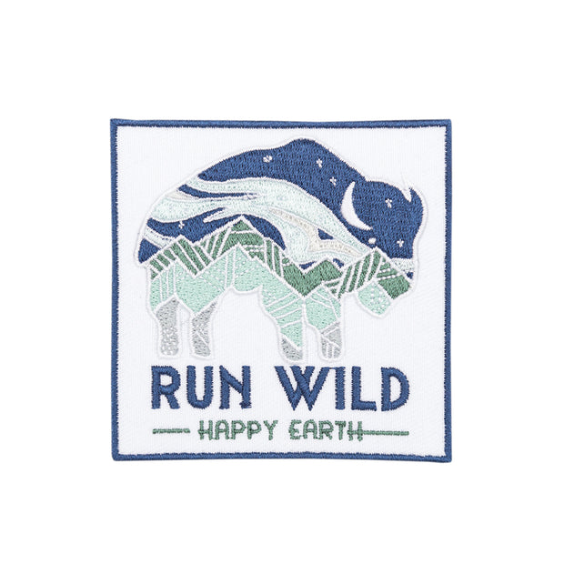 Run Wild Patch | Happy Earth Apparel