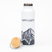 Ridgelines Water Bottle | Happy Earth Apparel